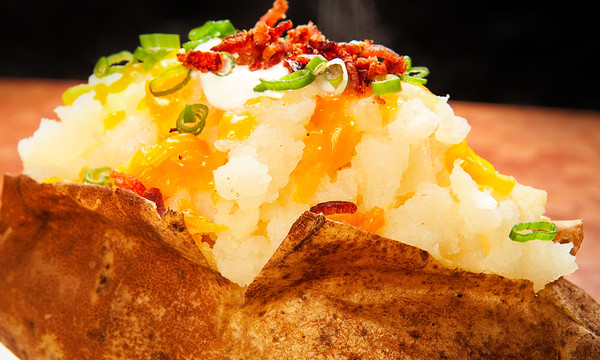 Retha's Loaded Baked Potato