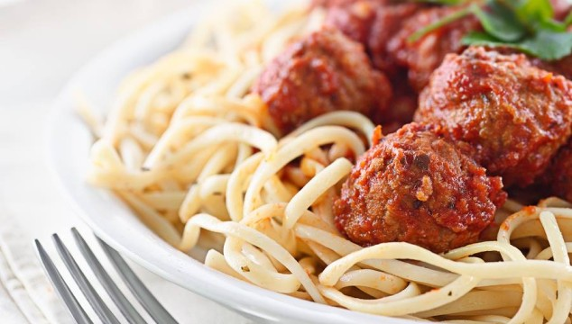 Retha's Spaghetti and Meatballs