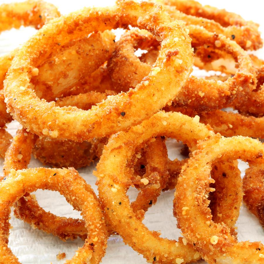Baked Onion Rings Recipe — Dishmaps
